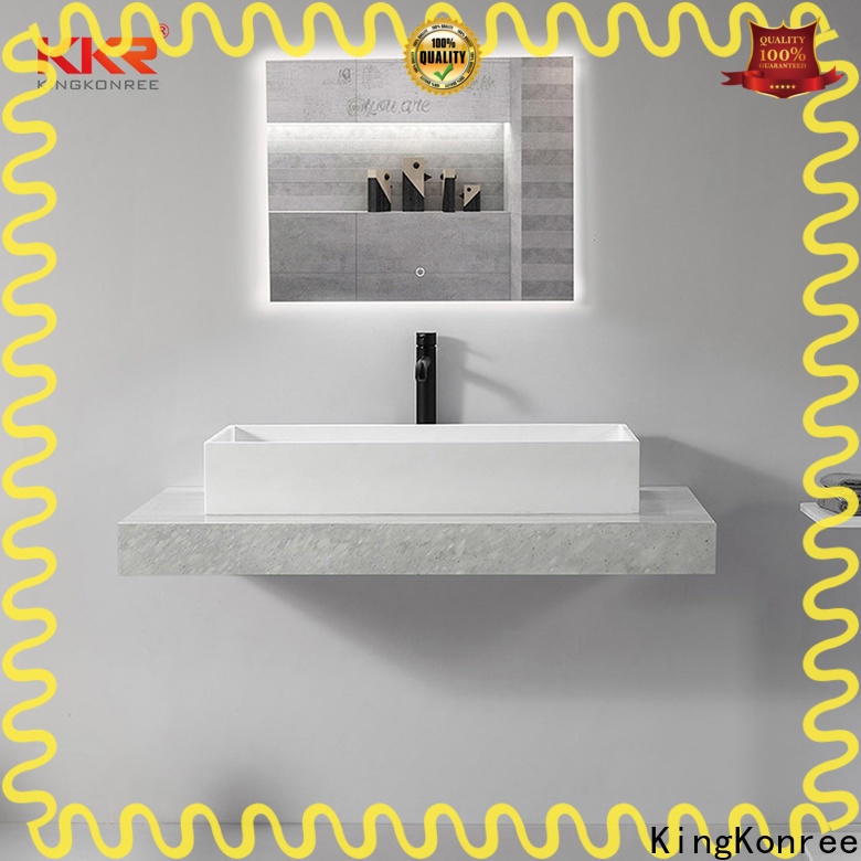 standard above counter sink bowl cheap sample for room
