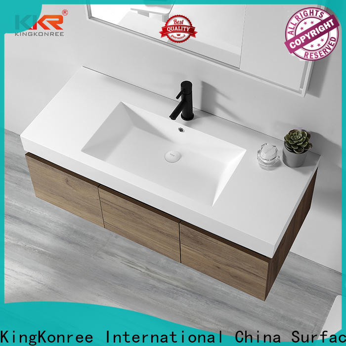 luxurious builders warehouse basin cabinets supplier for hotel