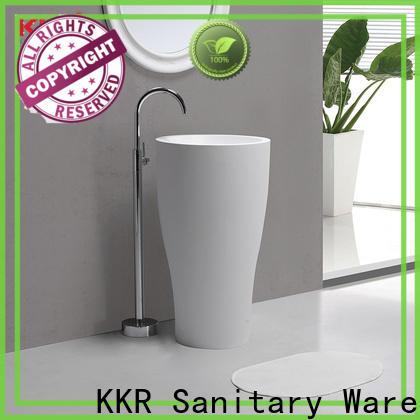 KingKonree freestanding basin customized for hotel