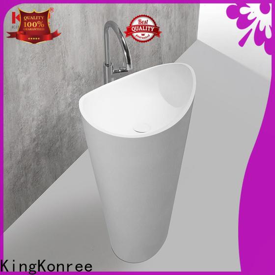 height freestanding basin manufacturer for hotel
