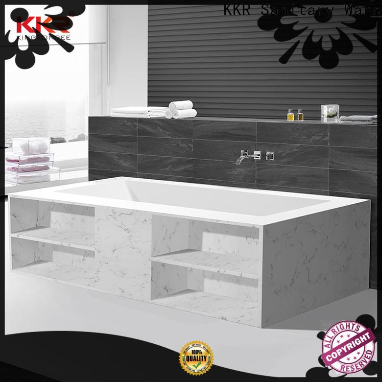 KingKonree practical freestanding soaking tub supplier for hotel