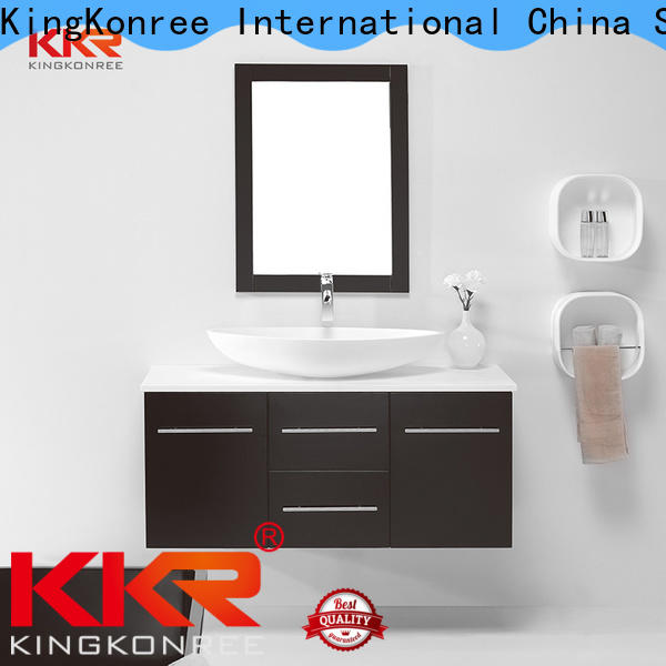 KingKonree sturdy basin with cabinet supplier for home
