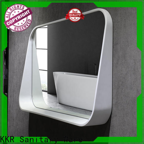 artificial custom bathroom mirrors supplier for home