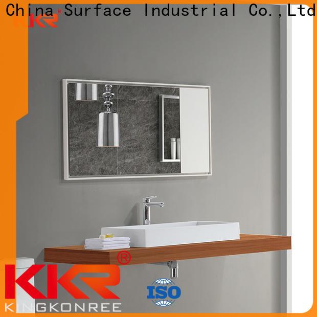 KingKonree modern mirror supplier for bathroom