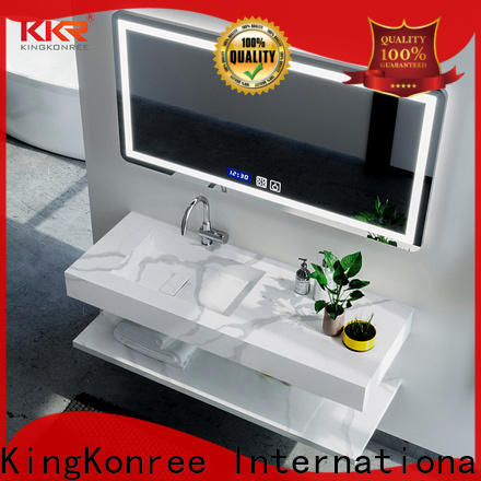 KingKonree approved washbasin cabinet design for motel