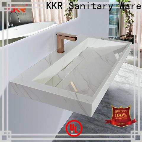 KingKonree 18 wall mount sink supplier for home