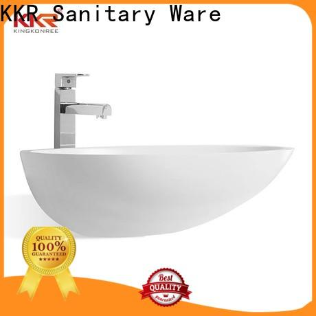 KingKonree above counter sink bowl customized for hotel