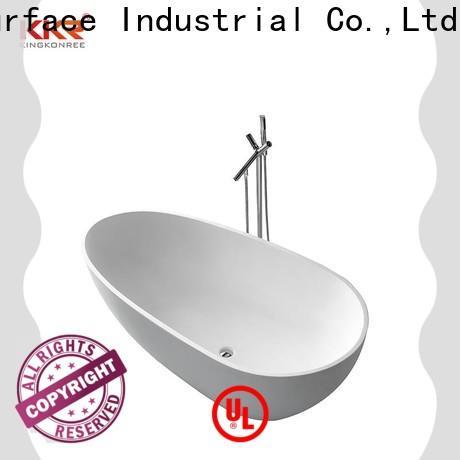 KingKonree on-sale solid surface bathtub supplier for family decoration