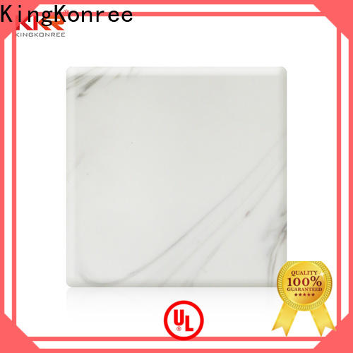 KingKonree quality solid surface sheets for sale supplier for home