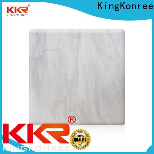 KingKonree hot selling acrylic solid surface sheet from China for room