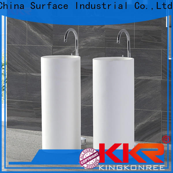durable stand alone bathroom sink supplier for motel