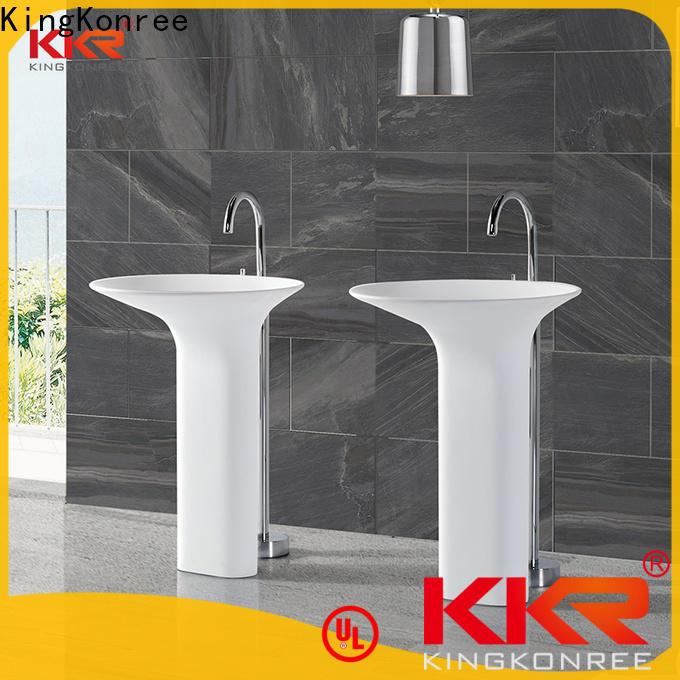 KingKonree height bathroom sink stand customized for motel