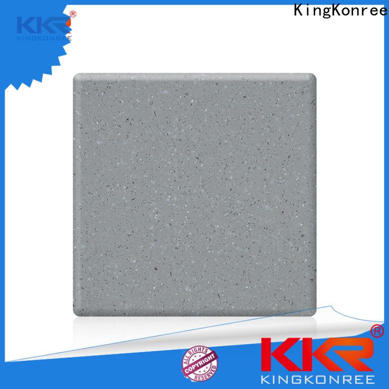 KingKonree acrylic solid surface manufacturer for hotel