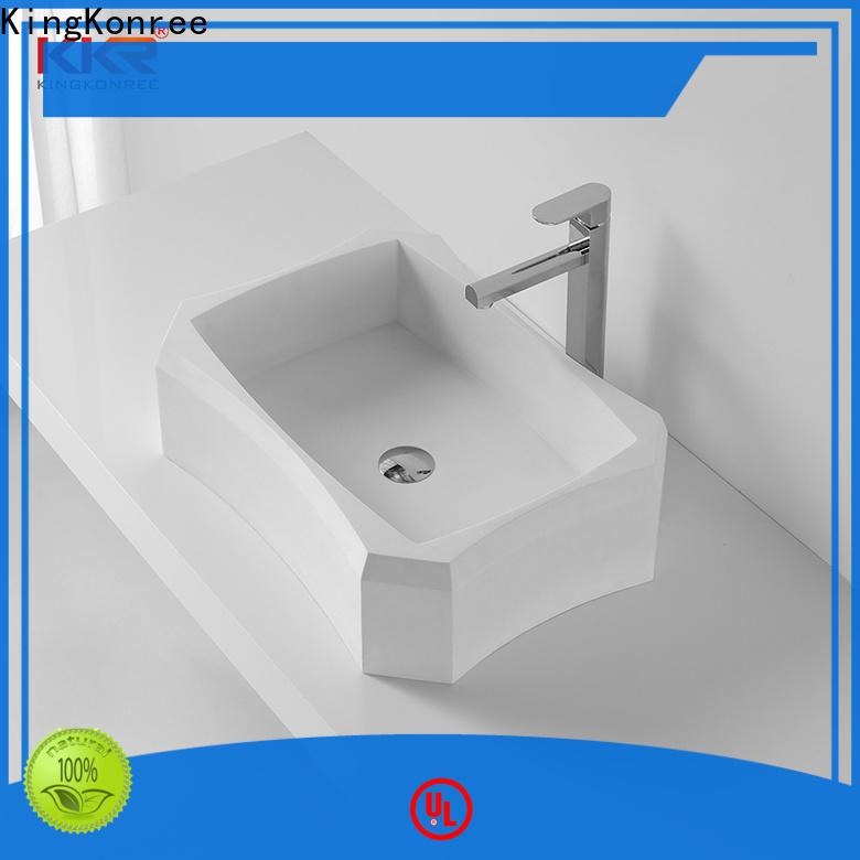 excellent counter top basins supplier for restaurant