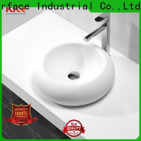 KingKonree standard above counter vessel sink manufacturer for home