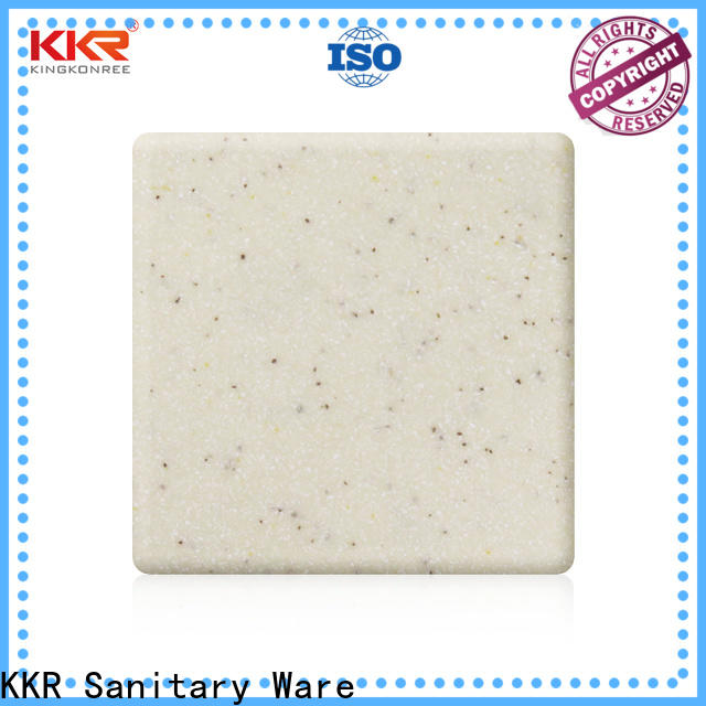 white solid surface countertops prices supplier for restaurant