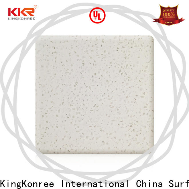 white best solid surface countertops customized for restaurant