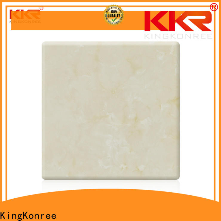KingKonree acrylic solid surface supplier for home