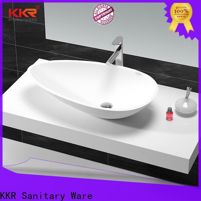 KingKonree marble vanity wash basin design for restaurant