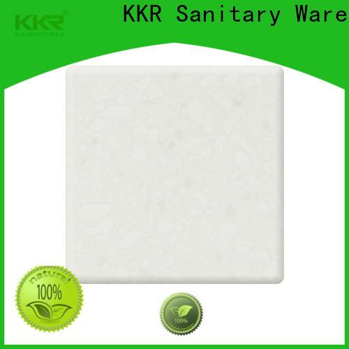 KingKonree soild solid surface sheets manufacturer for hotel