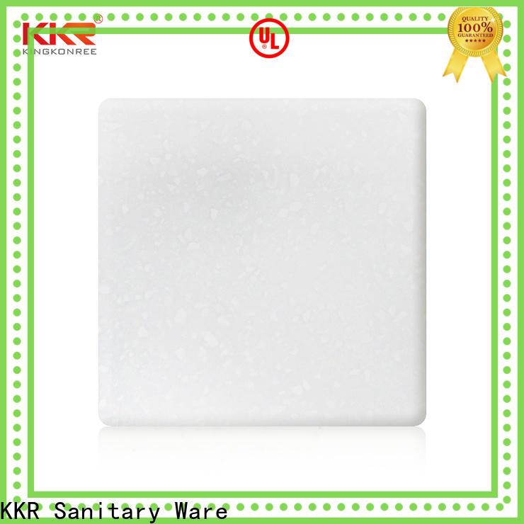 KingKonree types of solid surface countertops design for restaurant