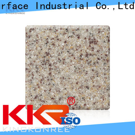 KingKonree 3050x760x6mm solid surface countertop material design for home