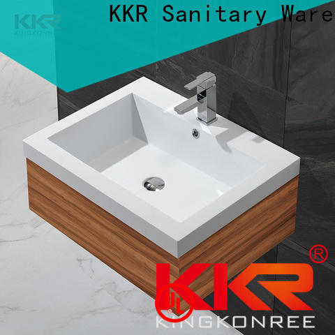KingKonree modern basin cabinet customized for hotel