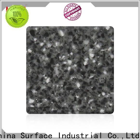 KingKonree solid surface countertop material manufacturer for hotel