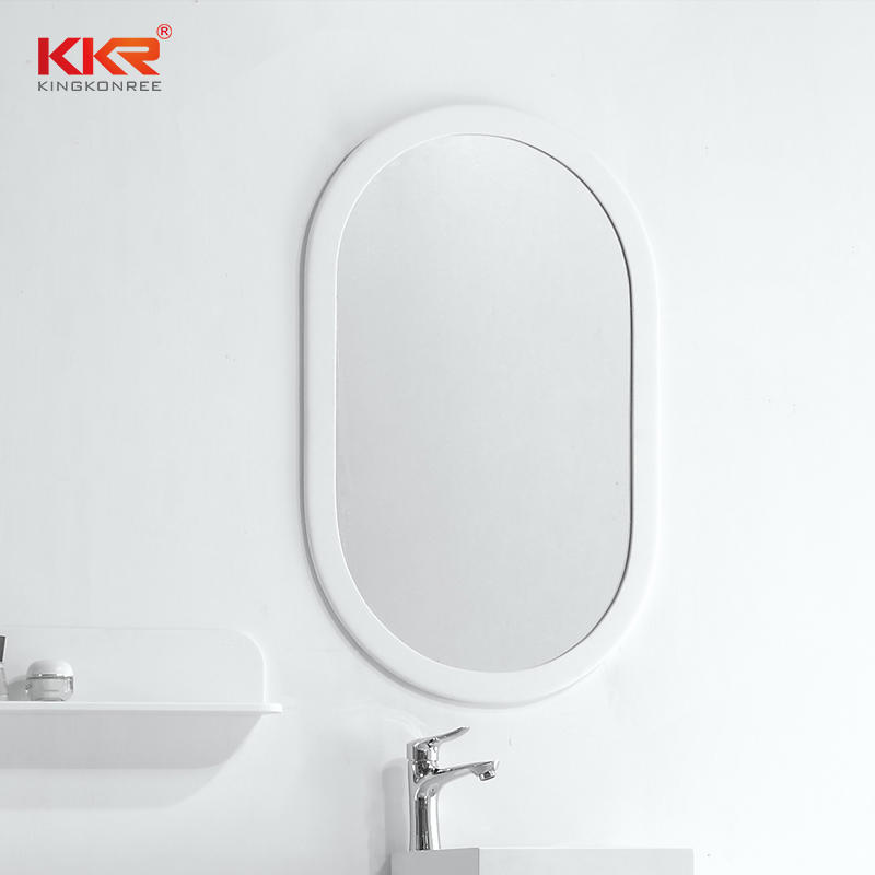 Wash Hand Basin With Rectangular Full Length Wall Mirror KKR-1572