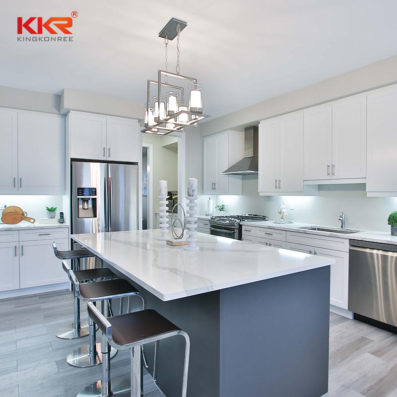 Quartz Countertops For Kitchens KKR-QY069