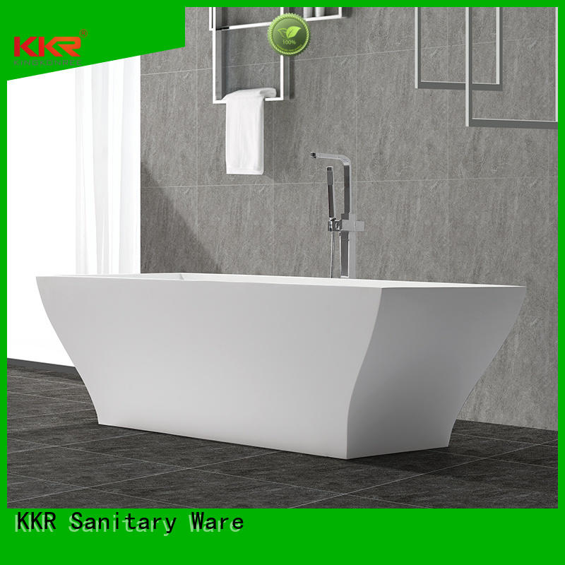 wall diameter b010 bathtub solid surface bathtub KingKonree