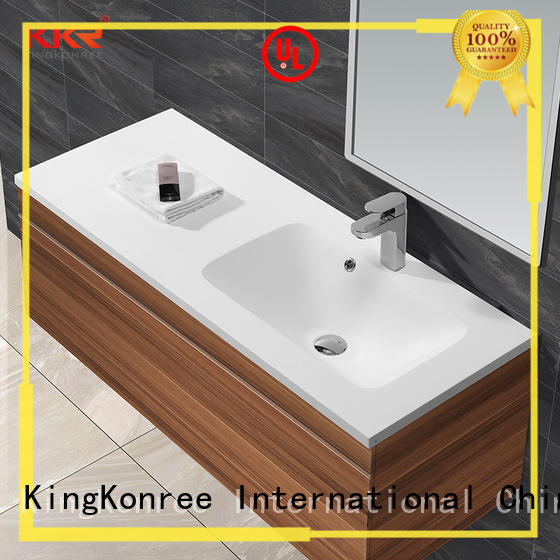 KingKonree grey washroom basin sinks for bathroom