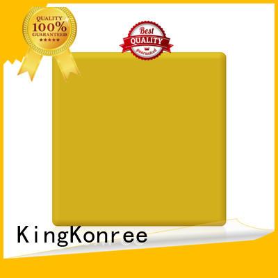 acrylic solid surface sheet length solid sheets Warranty KingKonree