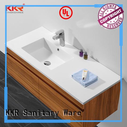 dark washroom basin fabrication for hotel KingKonree