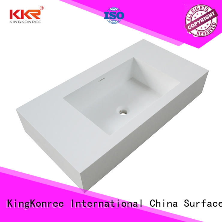 KingKonree quality bathroom tops latest design for hotel