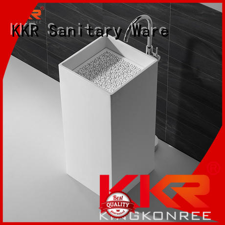 fancy modern KingKonree Brand bathroom free standing basins
