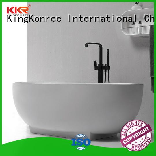 KingKonree solid surface freestanding tubs custom for bathroom