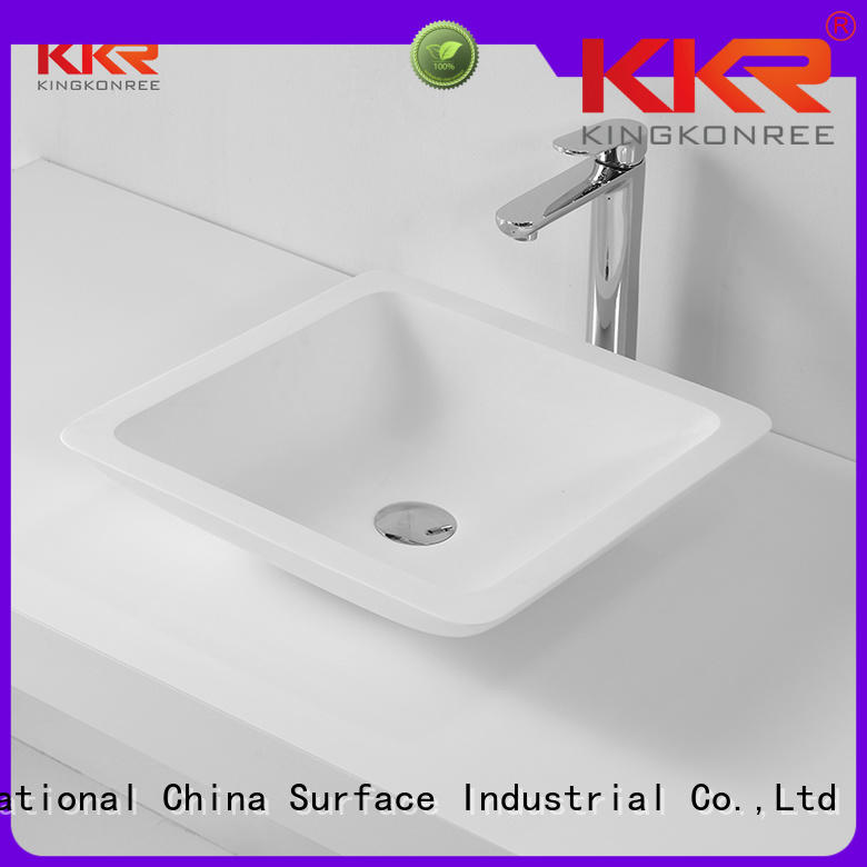 pure ware quality sanitary KingKonree Brand above counter basins supplier