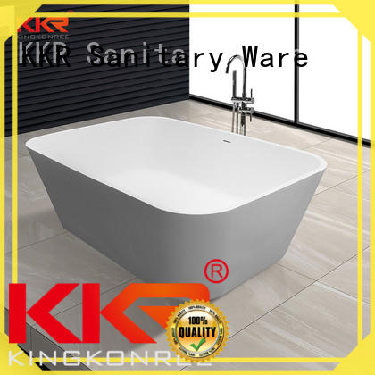 white solid surface bathtub OEM