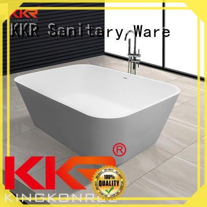 white solid surface bathtub OEM