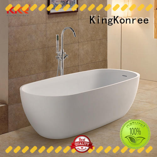 KingKonree white best freestanding bathtubs OEM