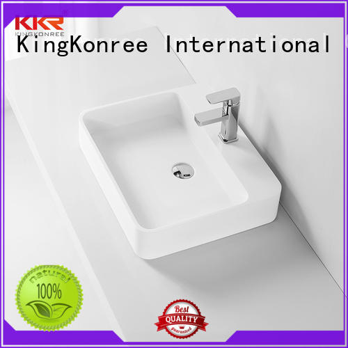KingKonree above counter basins supplier for room