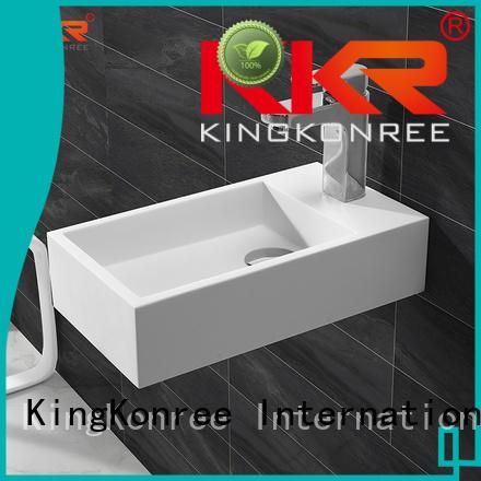 small wall mounted wash basins wall-hung KingKonree company