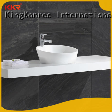 KingKonree top mount bathroom sink supplier for home