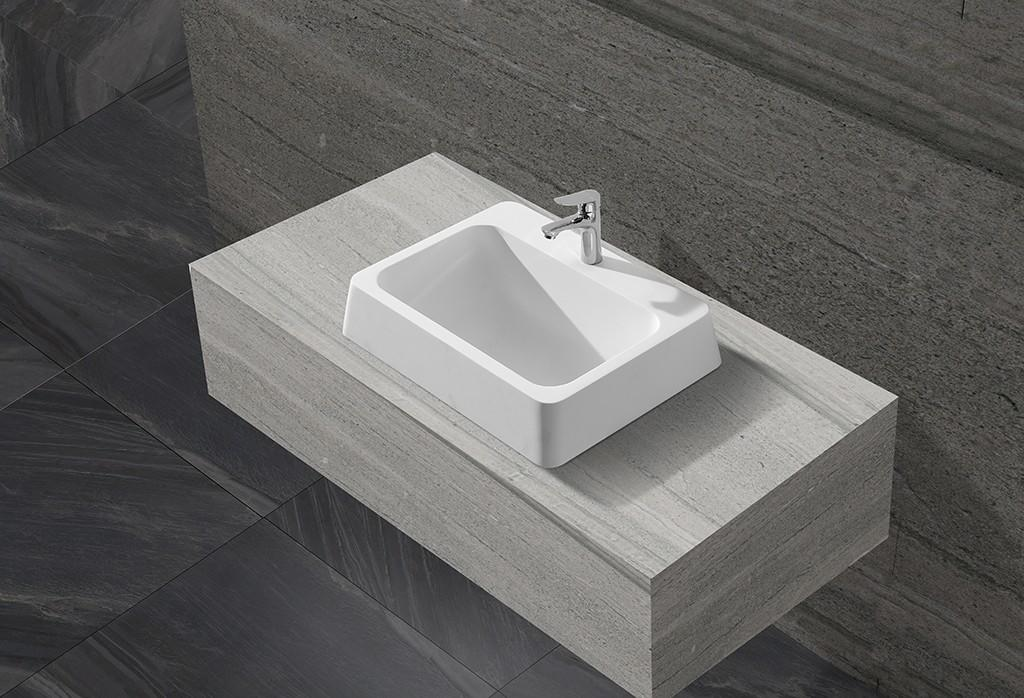 thermoforming above counter vanity basin supplier for hotel-1