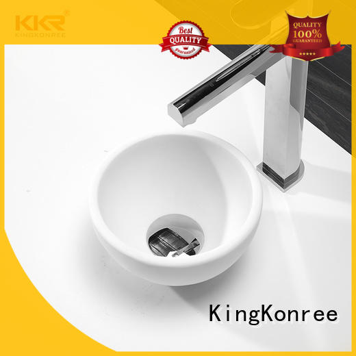 above counter sink bowl for hotel KingKonree