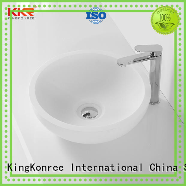 wash top mount bathroom sink at discount for room