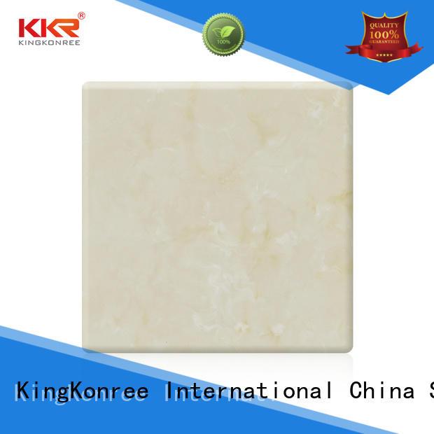 KingKonree newly buy solid surface sheets for room