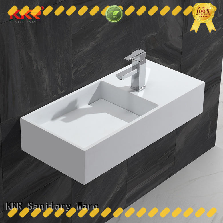 wall hung wall mounted wash basins manufacturer for hotel