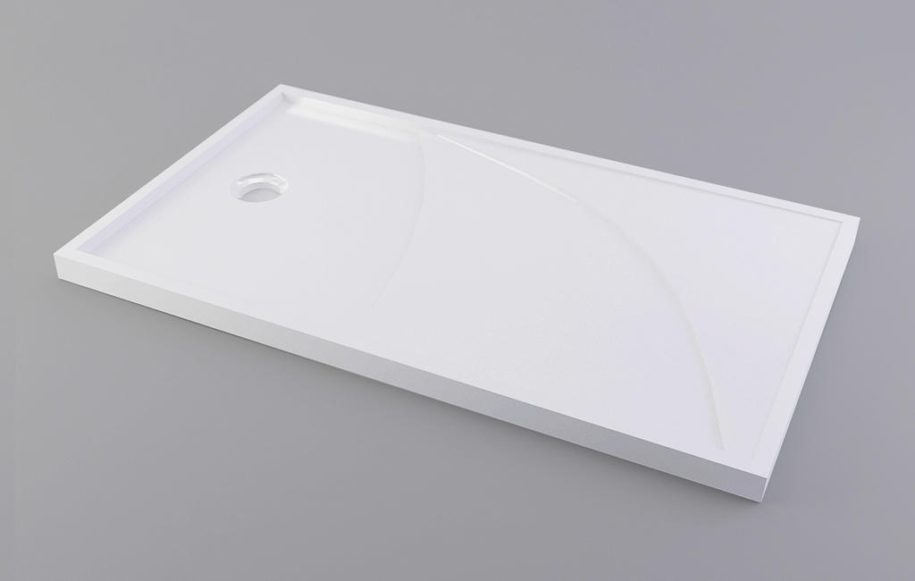 artificial square shower tray top for motel-1